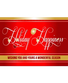 Holiday Happiness Boxed Christmas Cards