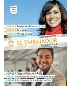 Jóvenes: El Embajador-Alumno Marzo - Agosto