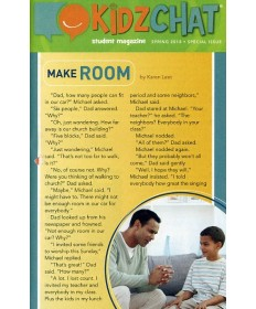 Kidz Chat (take-home paper) 5/pkg.