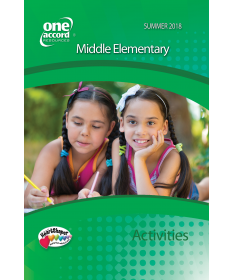 Middle Elementary Activities / Summer
