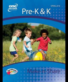 Pre-K & K Make-N-Share / Spring