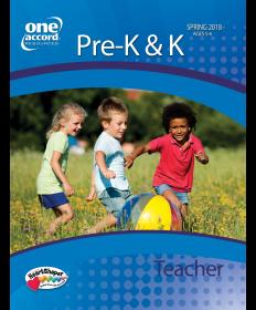 Pre-K & K Teacher / Spring