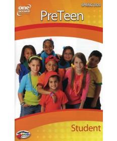 PreTeen Student / Spring