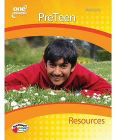 PreTeen Resources / Spring
