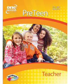 PreTeen Teacher / Fall