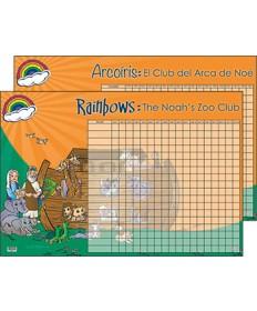 Rainbows Achievement Poster, Bilingual