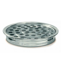 Silvertone Aluminum Communion Tray
