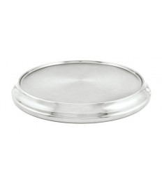 Silvertone Aluminum Communion Tray Base