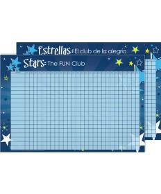 Stars Achievement Poster