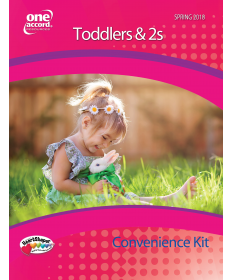 Toddler's & 2s Teacher's Convenience Kit / Spring
