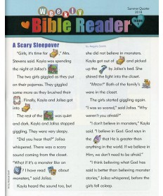 Weekly Bible Reader (take-home paper) / Summer