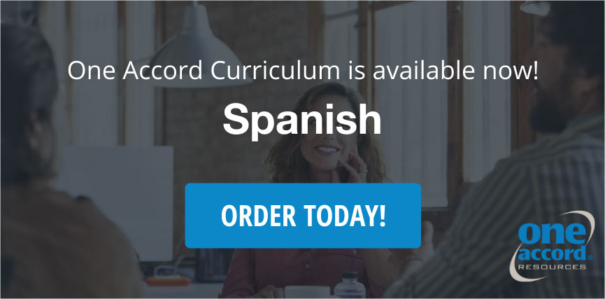 One Accord Curriculum is available now!